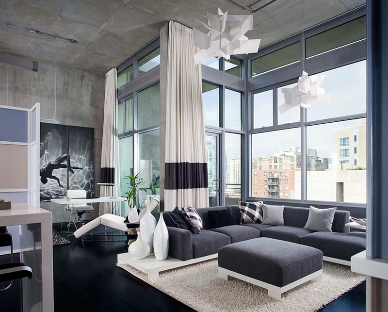 Amazing modern living room with a contemporary touch