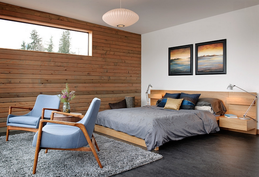 ... An industrial bedroom with a more modern, softer vibe [Design: Dyna  Contracting]