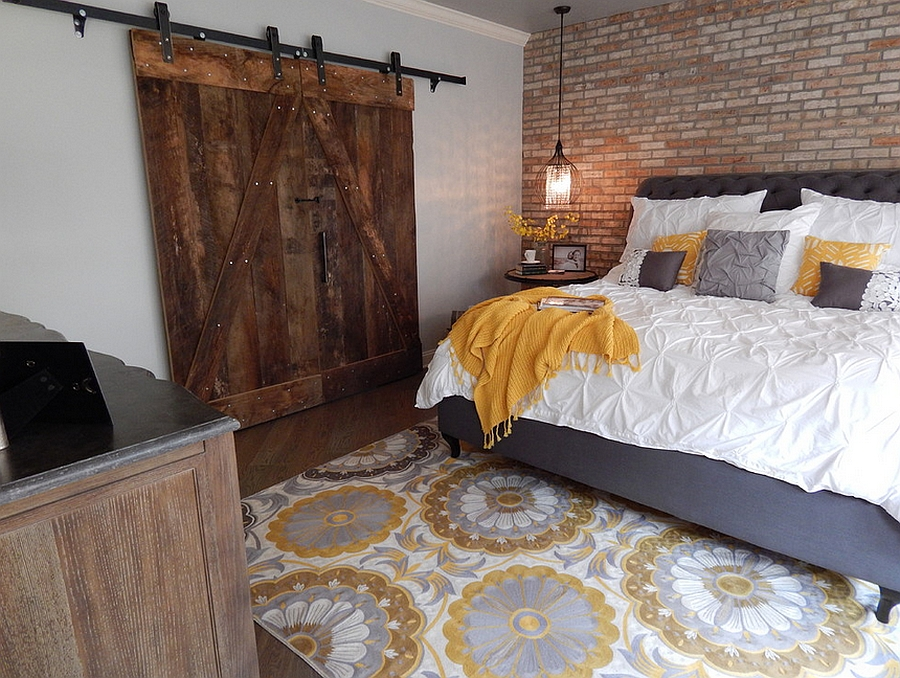 Industrial bedroom ideas photos trendy inspirations for Decorating a basement bedroom