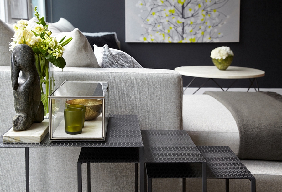 Beautiful nesting tables add a whole new dimension to the living room Chic Stackable Nesting Tables To Save Space In Style