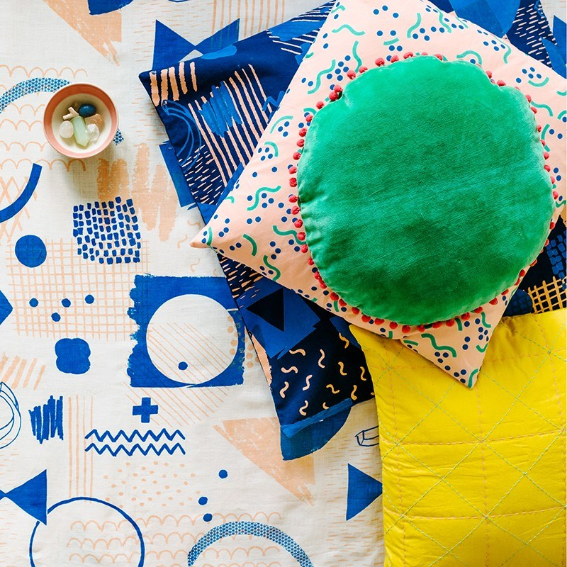 Colorful cushions from Arro Home