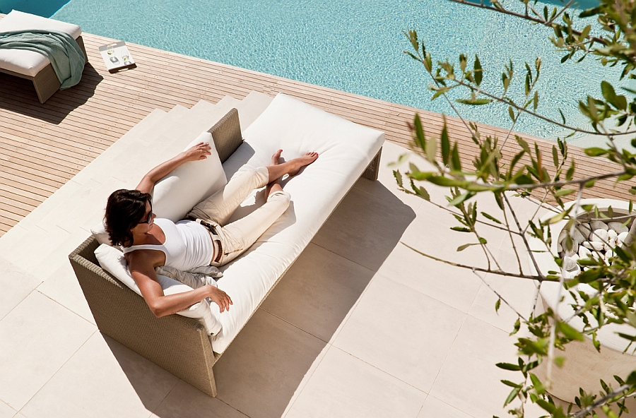 Comfy Terra sofa is easy both on you and the planet!