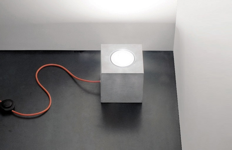 Concrete lamp from Luminaire