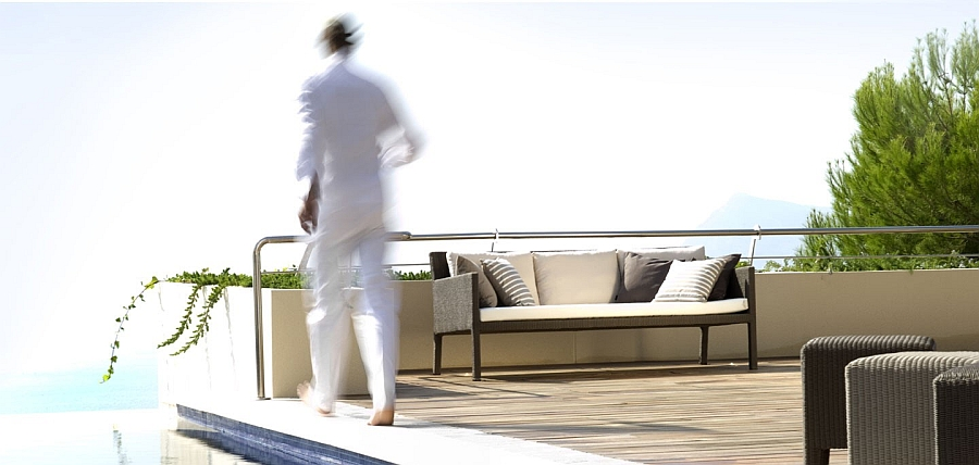 Create a stunning outdoor lounge with the recyclable, contemporary Terra