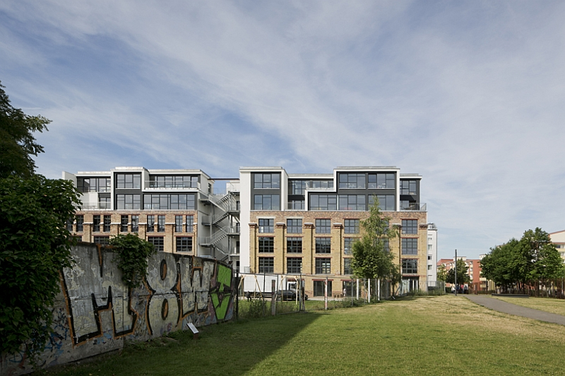 Creative start-up campus located on the same spot as the Berlin Wall in the past