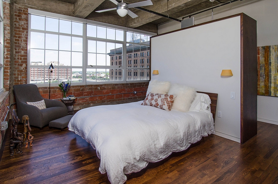 Industrial bedroom ideas photos trendy inspirations - Chambre style loft industriel ...