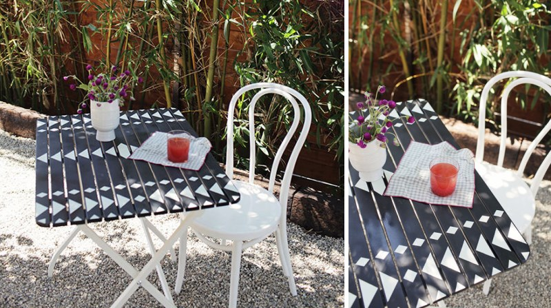 Customized bistro table DIY project 20 DIY Projects To Try This Fall