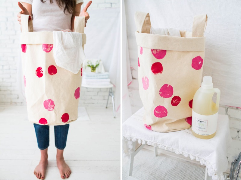 DIY laundry bag from Design Love Fest