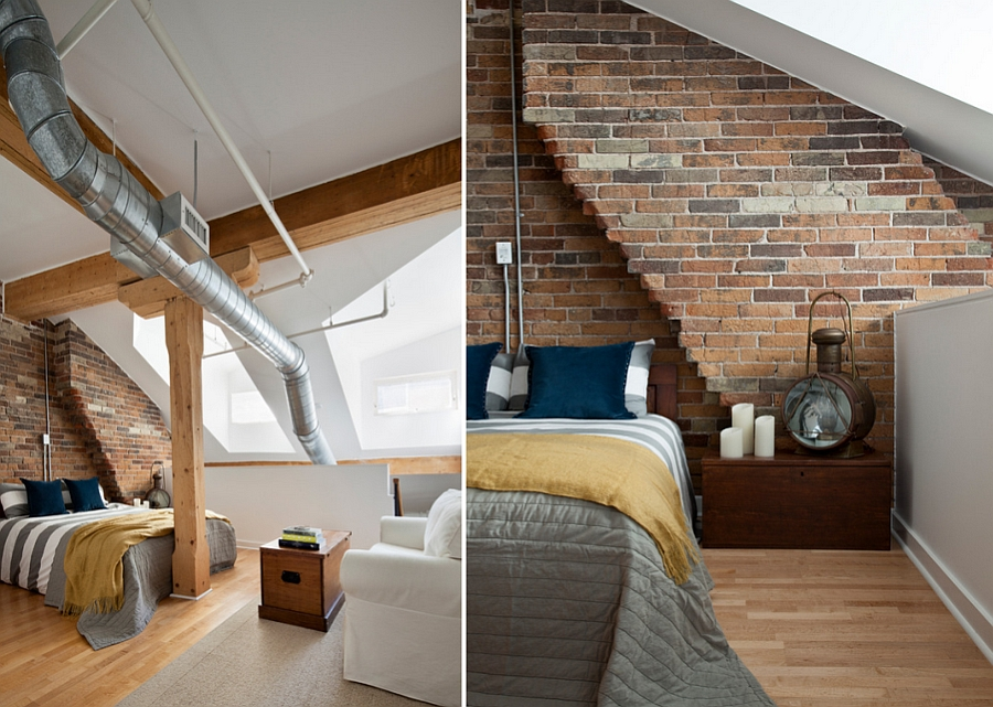 ... Decorating An Industrial Style Bedroom With Panache [Design: Rad Design]