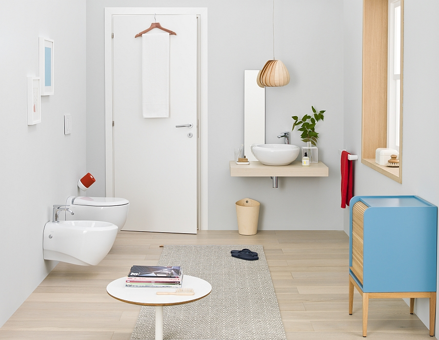 Desigining a small bathroom in an elegant and soothing manner Small Bathroom Design Solutions With Trendy, Smart Sophistication