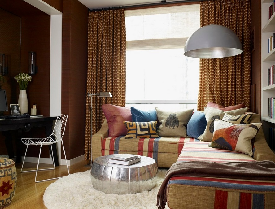 10 cozy rooms filled with texture for Earthy apartment decor
