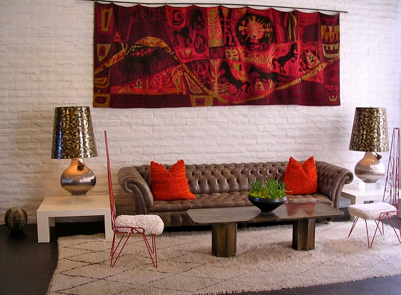 Eclectic living room with a touch of Moroccan charm [From: Becky Harris]