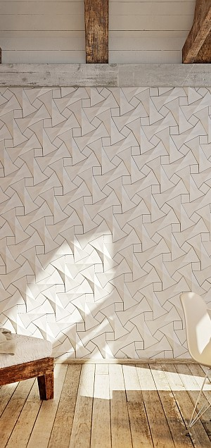 Enliven your home interior instantly with stunning concrete tiles from KAZA