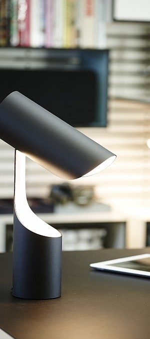 Flexible design of Mutatio allows you to control the intensity of light