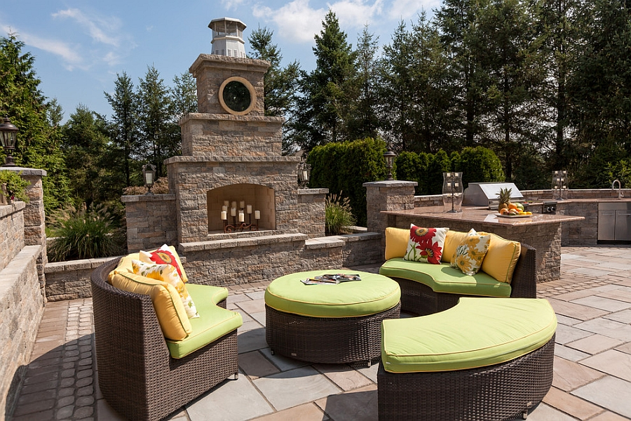 Kim Granatell S New Jersey Home Gets A Trendy New Backyard