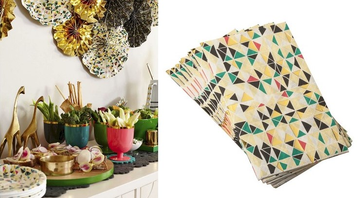 Geo napkins from the Oh Joy! for Target Fall Collection
