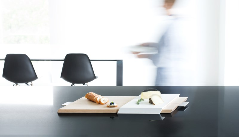 Geometric serving tray from Finell