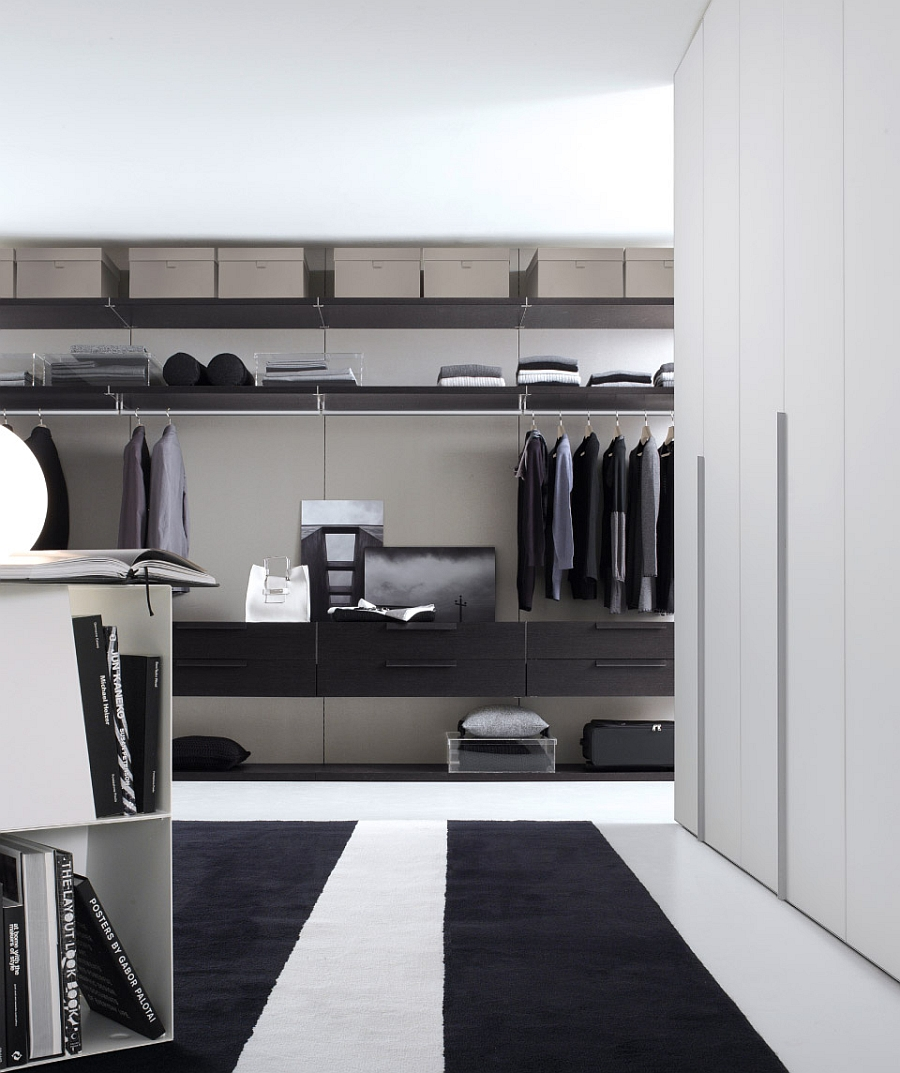 12 walk in closet inspirations to give your bedroom a trendy makeover for Bedroom walk in closet designs