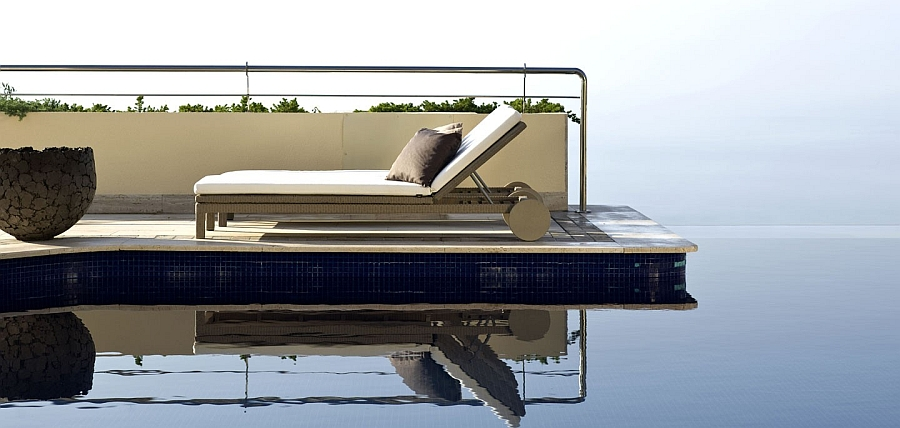Gorgeous poolside lounger for those who love sustainable style