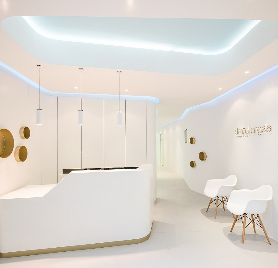 refined elegance meets functional style at dental angels in barcelona