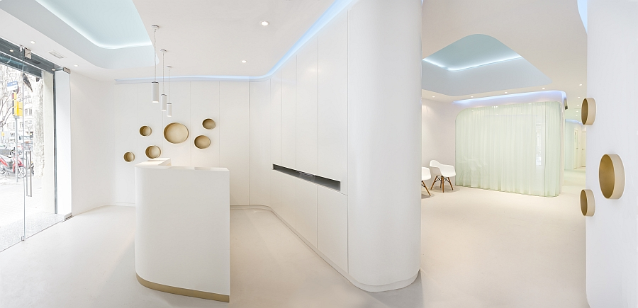 View In Gallery Innovative Modern Design Of Dental Clinic In Barcelona