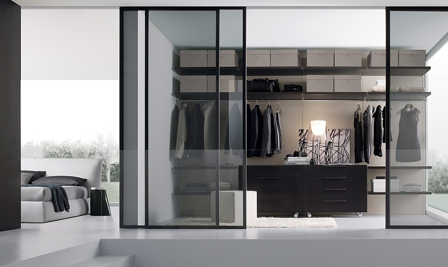 12 walk in closet inspirations to give your bedroom a for Cabina armadio low cost