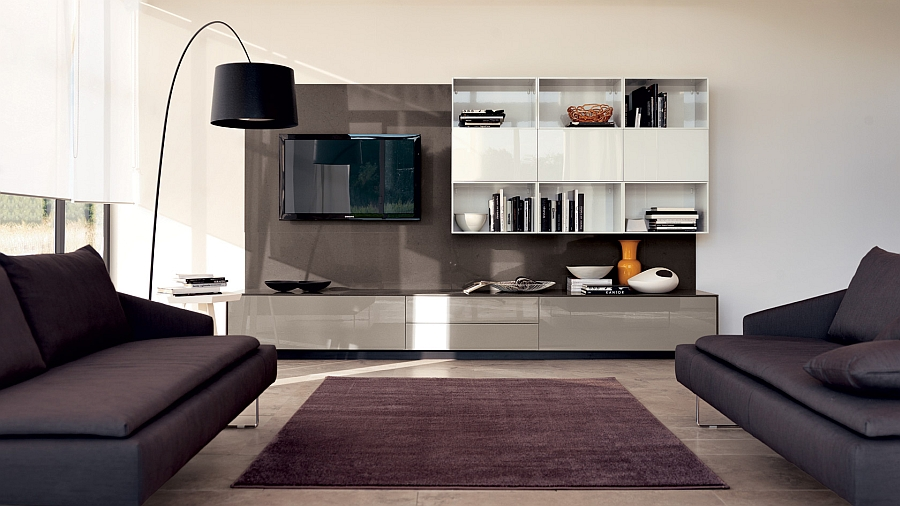 LiberaMente integrates the kitchen and living room with ease