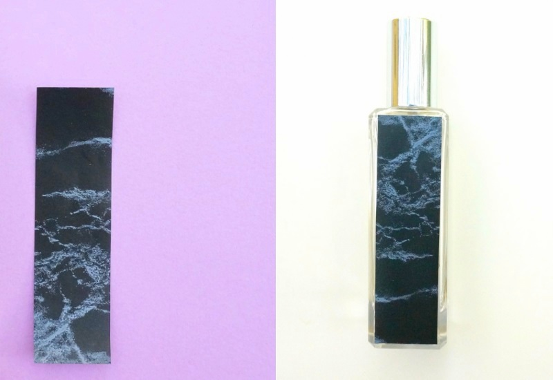 Marble perfume bottle