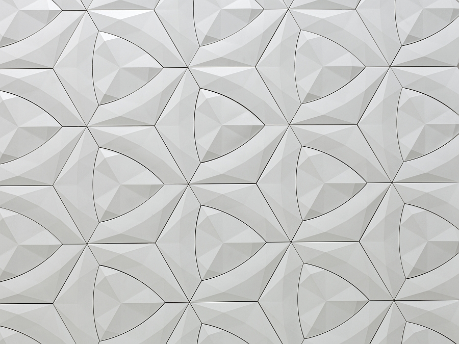 Modern Cruck Tile by Levi Fignar for KAZA