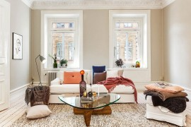Scandinavian Design Lessons: Trendy Apartment in Vasastan!