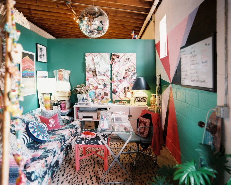 Office space of designer Jamie Meares