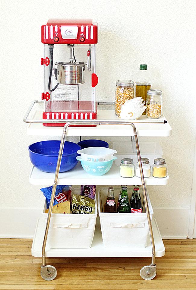 Popcorn cart DIY