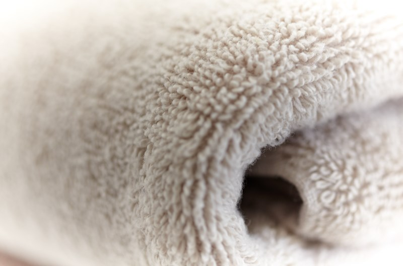 Prevent mildew growth on your towels