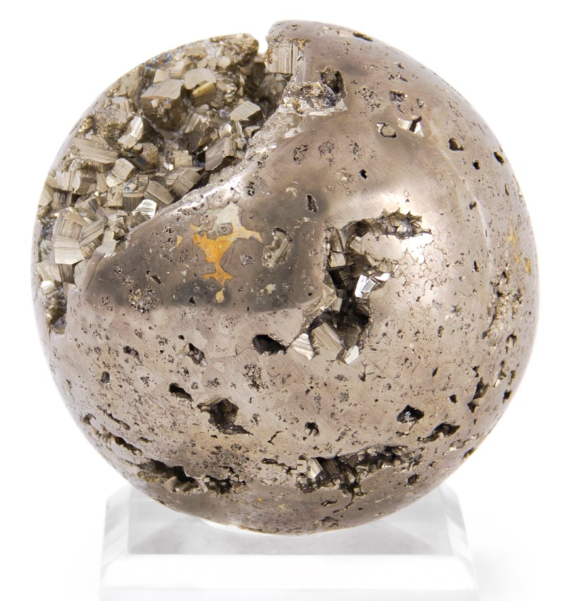Pyrite sphere from Jonathan Adler