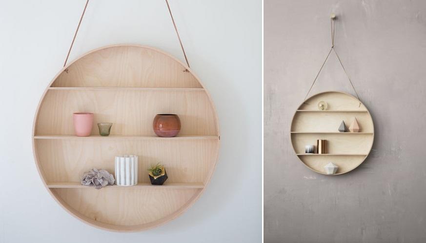 Round shelf from Ferm Living