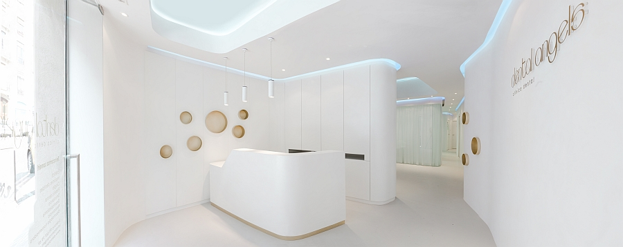 Simple and understated lighting additions for the modern office