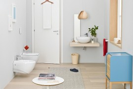 Small Bathroom Design Solutions With Trendy Smart Sophistication