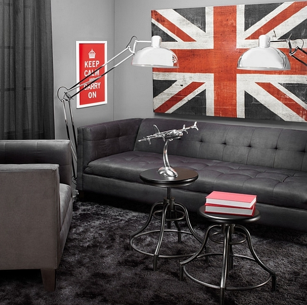 Smart use of floor lamps in the urban living space [Design: Z Gallerie]