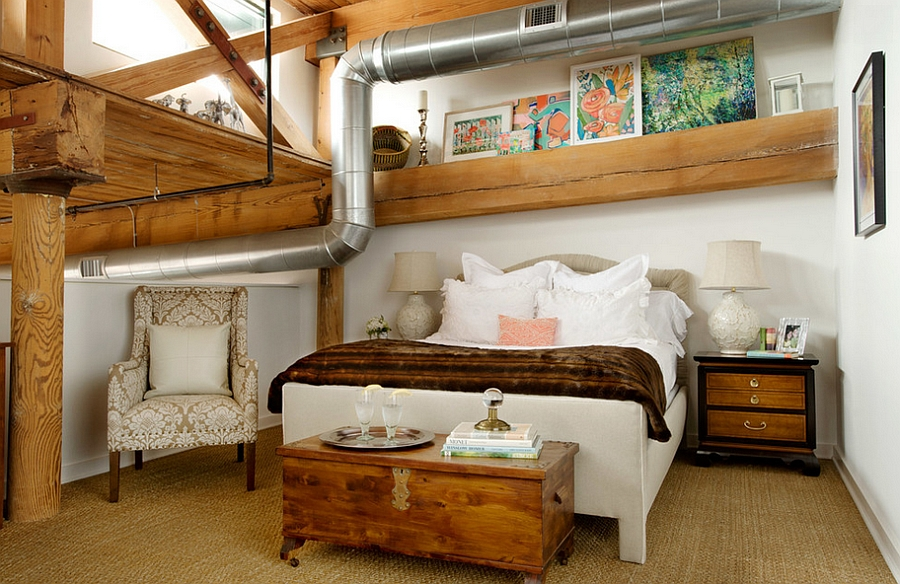 ... Smart Use Of Space In The Small Bedroom [Design: Décorahh!]