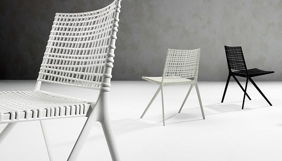 Snazzy outdoor chairs that can be used indoors as well