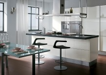 Classy Contemporary Kitchen Offers Refined, Innovative Space Solutions