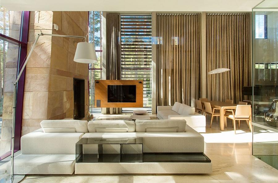 Sparkling private residence in Estonia