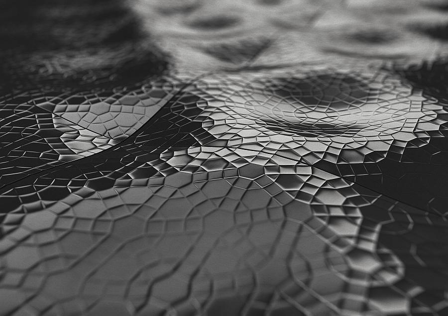Ster tile in black from KAZA