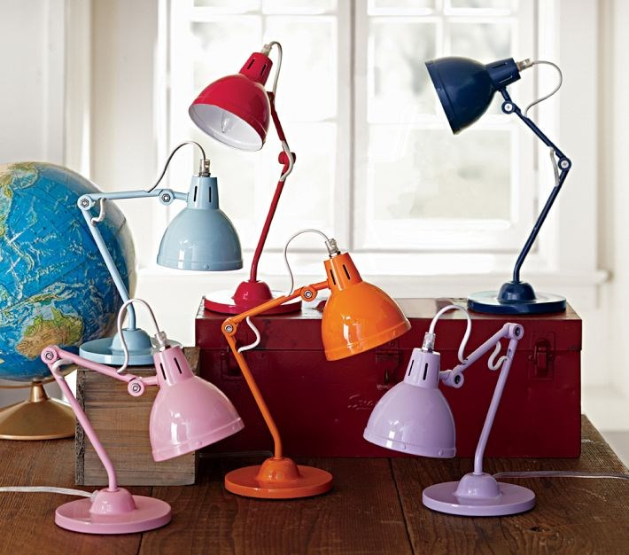 View in gallery Task lighting from Pottery Barn Kids - The Latest In Kids' Furniture, Textiles And Decor