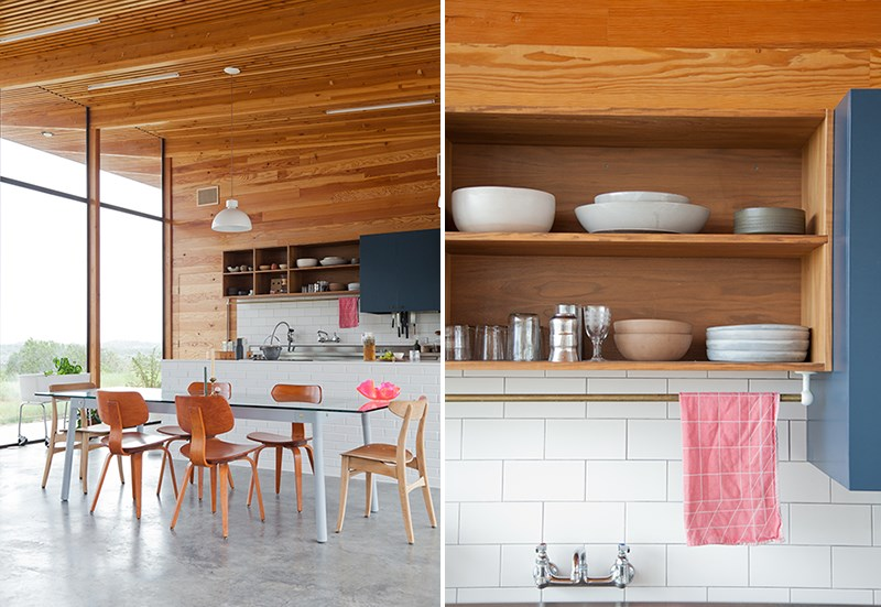 The stunning kitchen and dining space of designer Alyson Fox