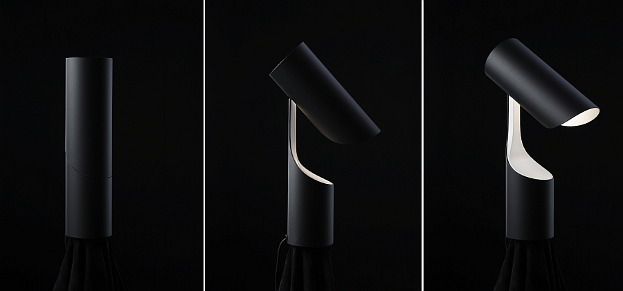 Transformable style of the trendy table lamp from Le Klint