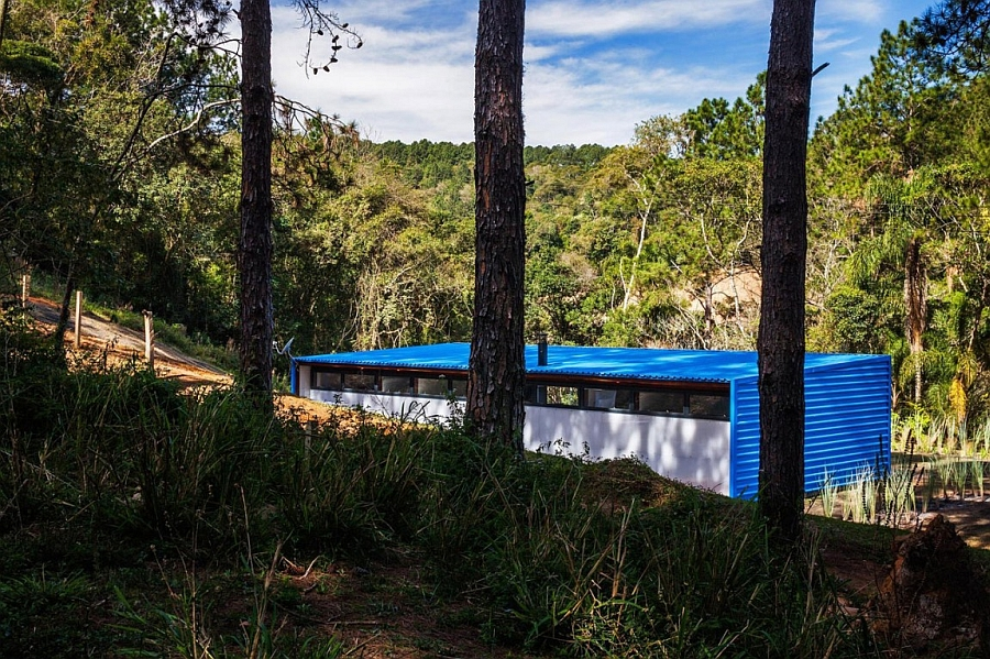 View of the natural landscape around the stylish holiday home
