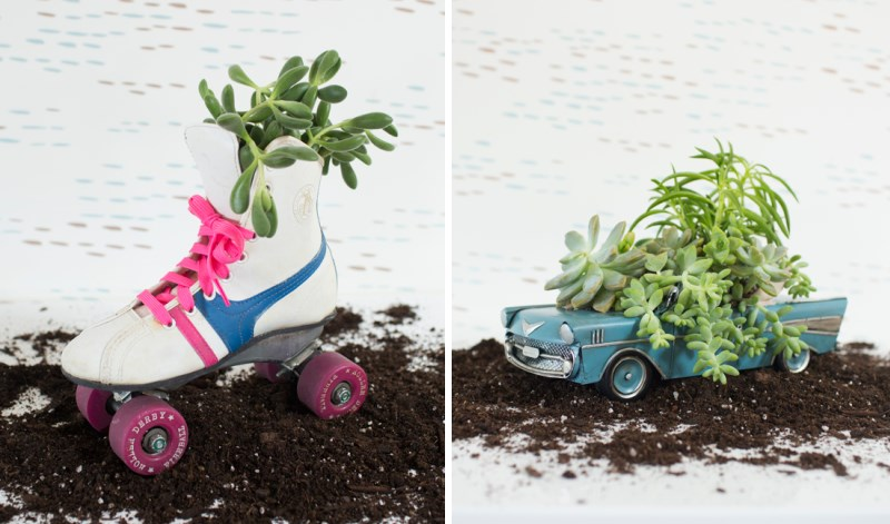 Vintage DIY planter idea from Oh Joy!