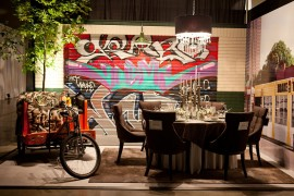 Graffiti Brings Spirited Street Style Indoors With Creative, Colorful Flair