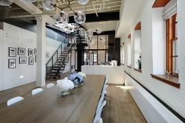 Posh Penthouse Loft Blends Timeless NYC Magic With Modern Aesthetics